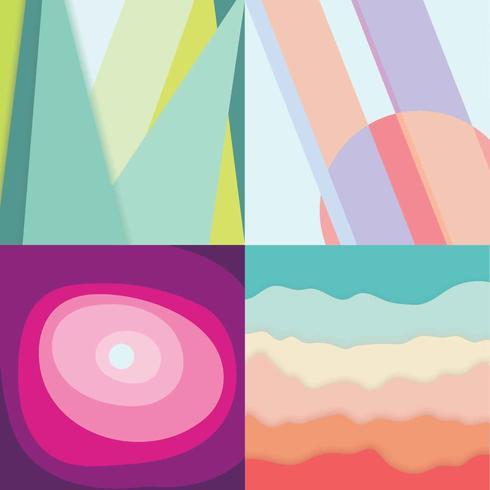 Fondo abstracto en colores pastel