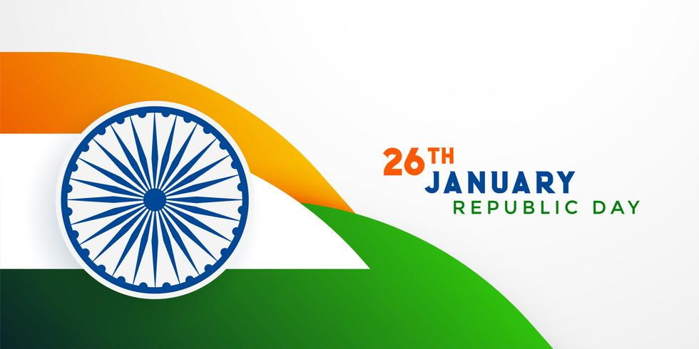 26. Januar Tag der indischen Republik Tag Hintergrund