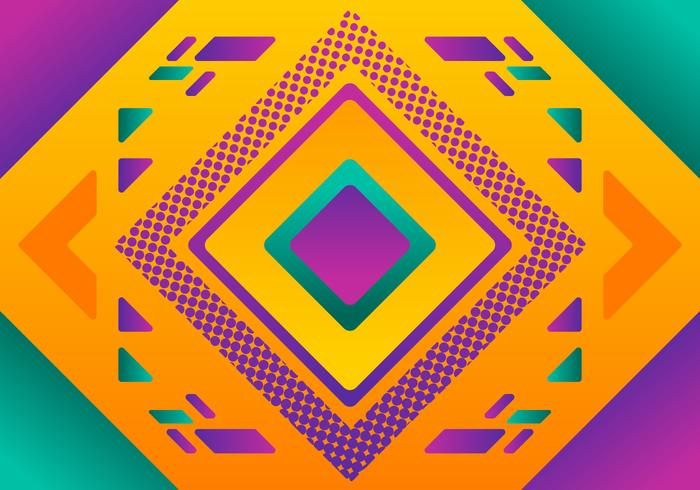 Awesome kleurrijke achtergrond vectoren