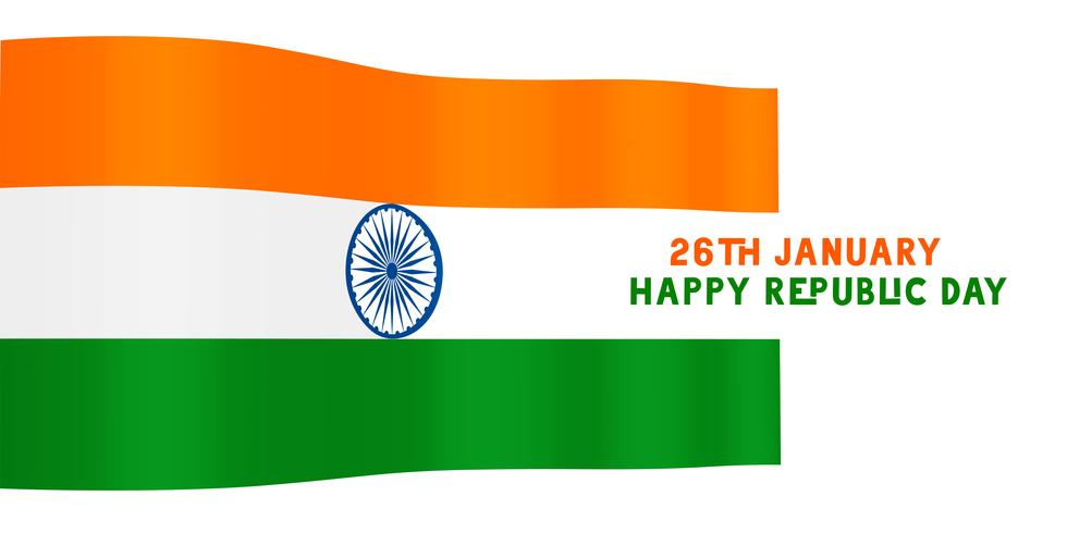 indian flag for happy republic day