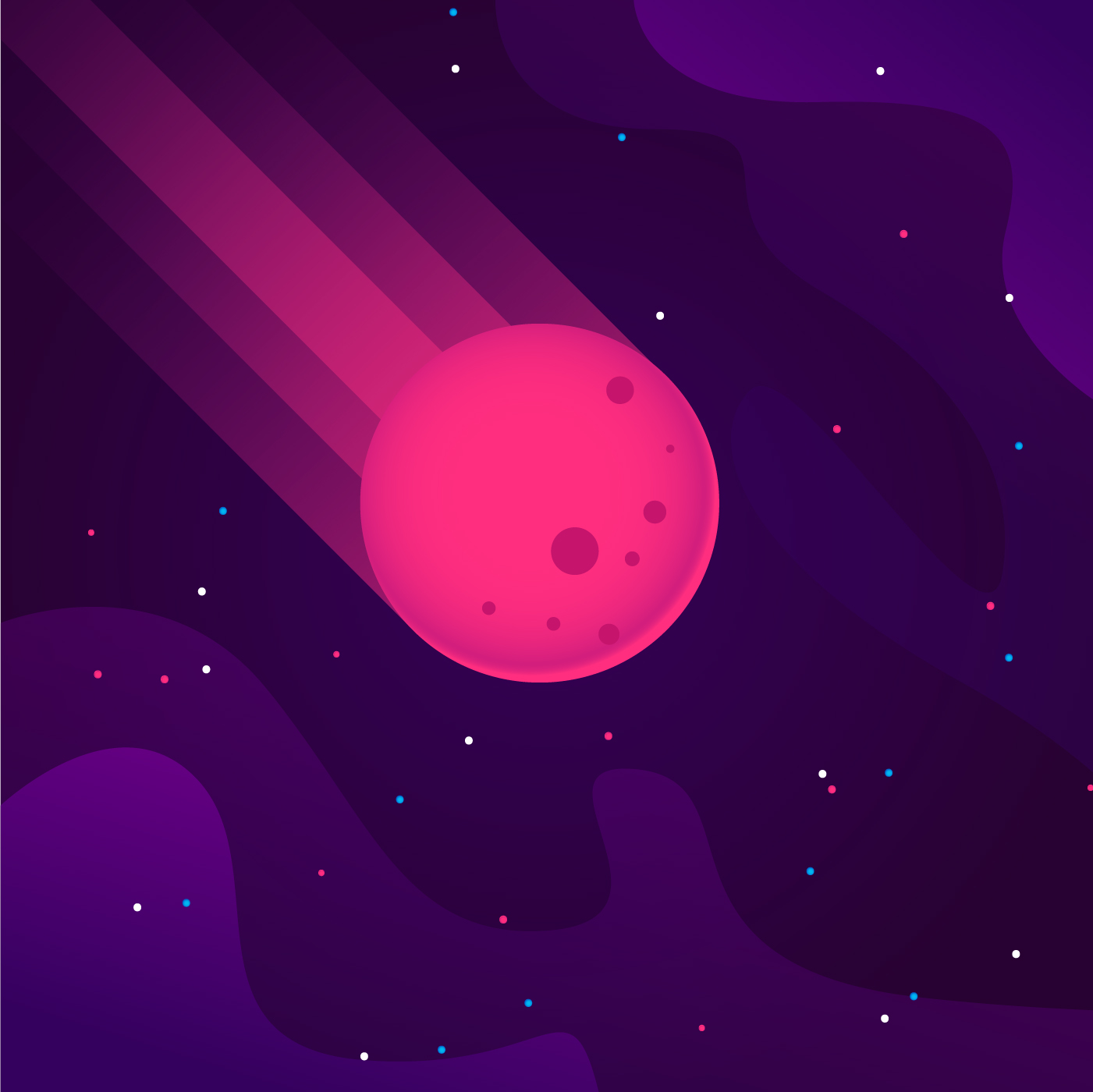 Falling Meteor Illustration Download Free Vectors