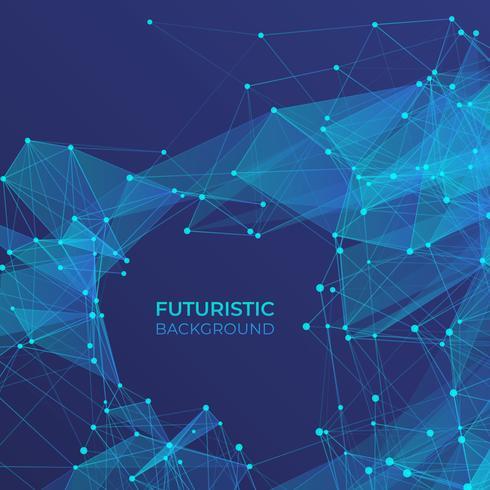 Abstracte futuristische achtergrond vector