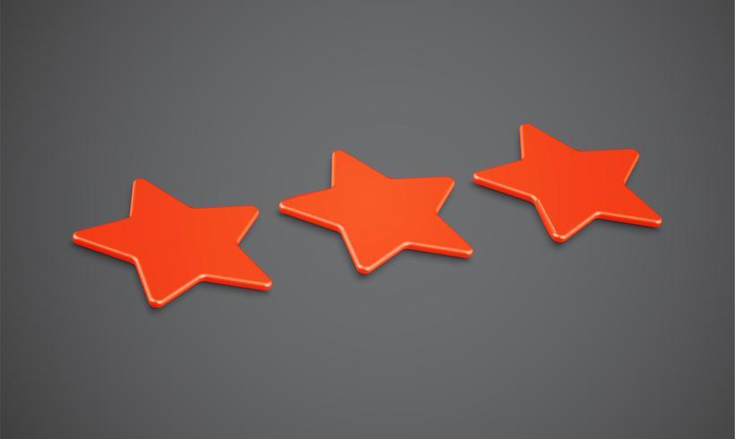 Étoiles ou fond 3D, illustration vectorielle