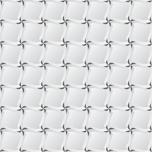 Fondo realista con esquinas y sombras, ilustración vectorial textura, patrón transparente