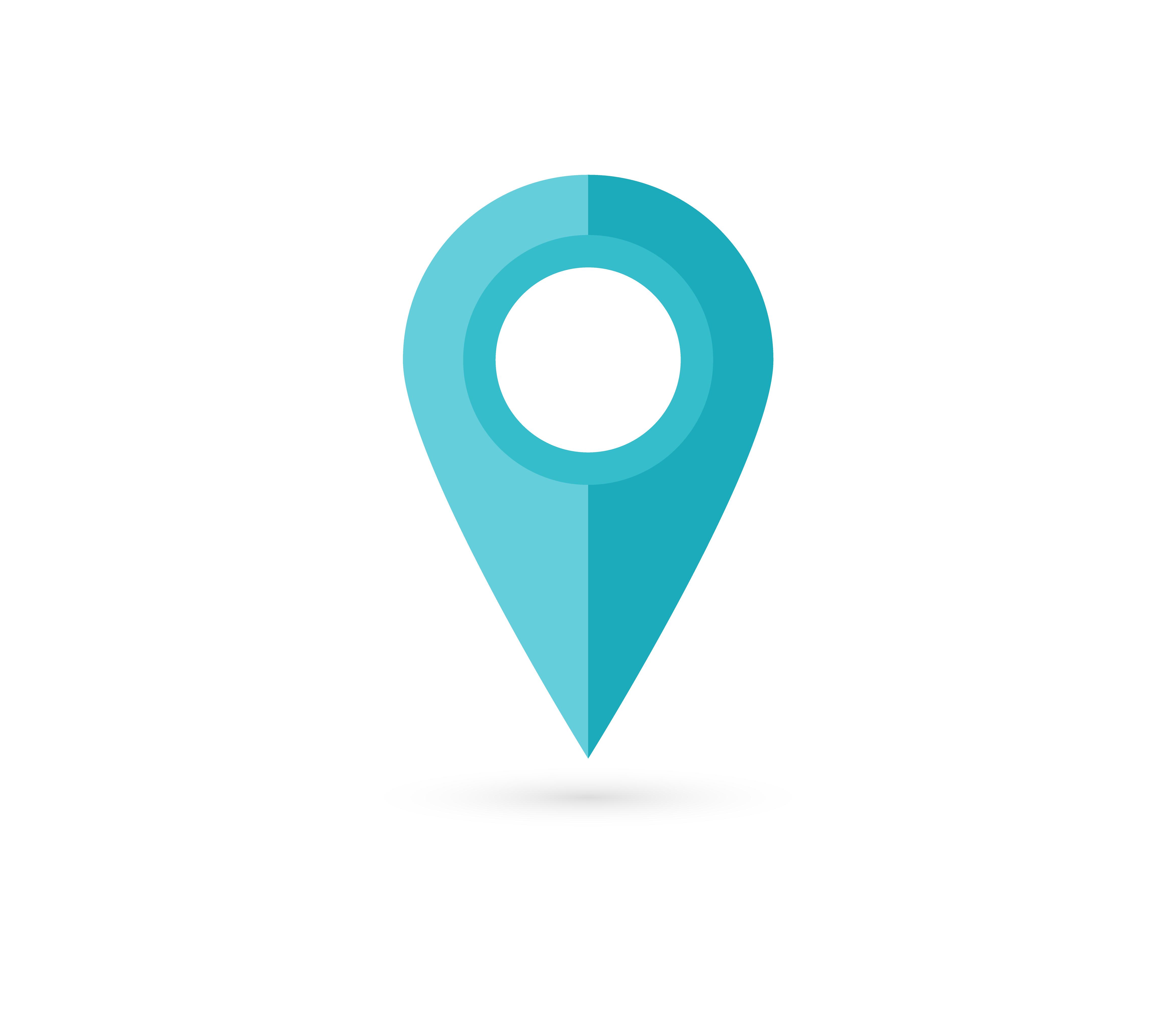 Location Pin. Map Pin Flat Icon Vector Design . 280013