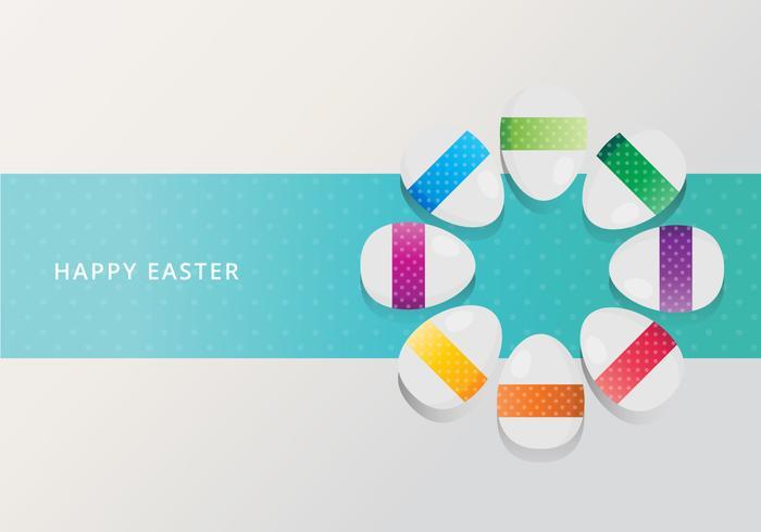 Backdground De Easter. Feliz Páscoa.