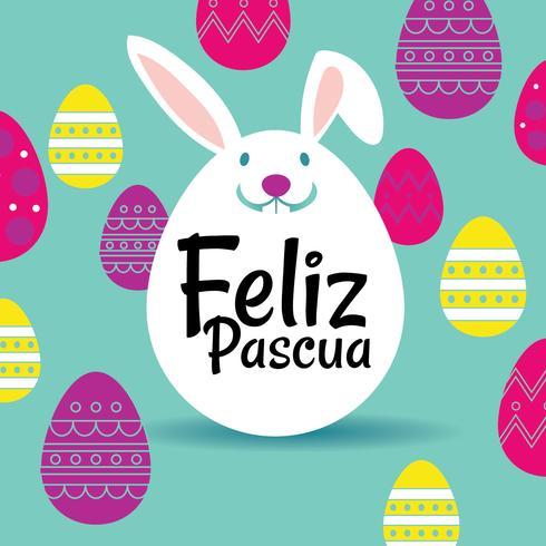 felicitación feliz Pascua