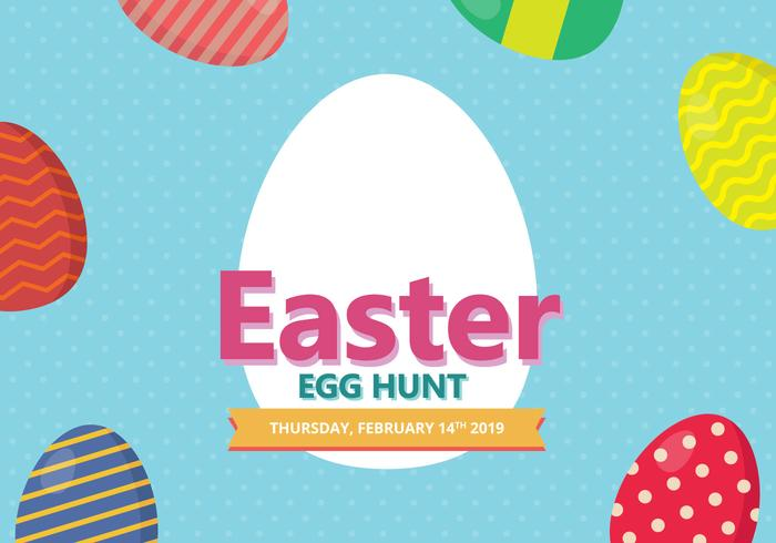 Easter Backdground. Happy Easter.  vector