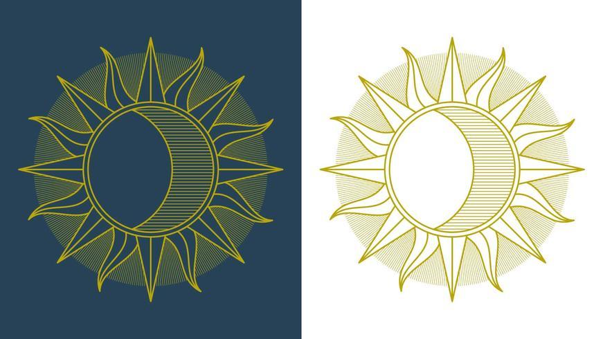 Excelente Sun Clipart Set Vector