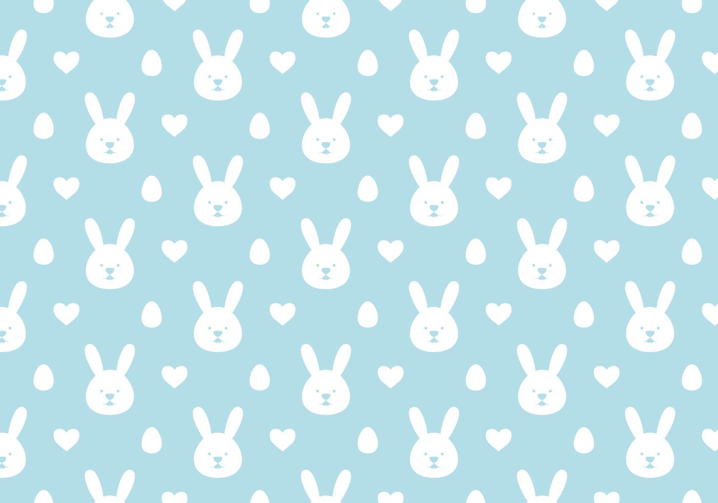 Easter Bunny Wallpaper Background Download Free Vectors Clipart