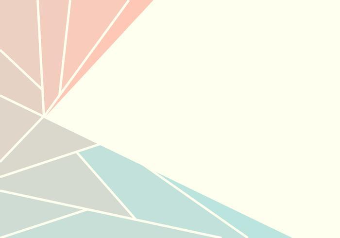 Fundo geométrico Pastel abstrato