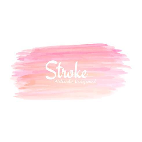 Ejemplo rosado abstracto del fondo del diseño de la acuarela