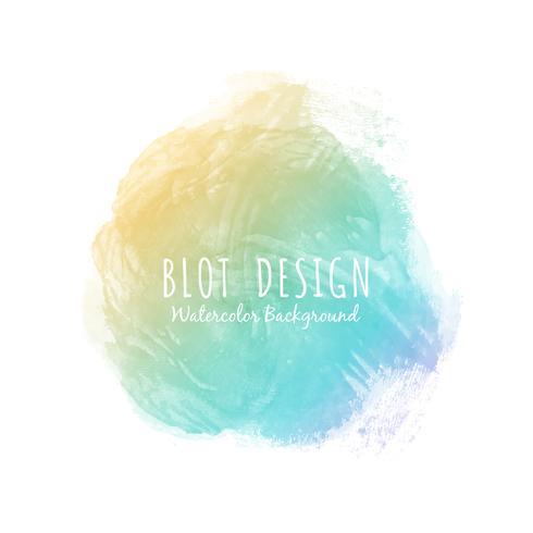 Aquarelle colorée abstrait design fond