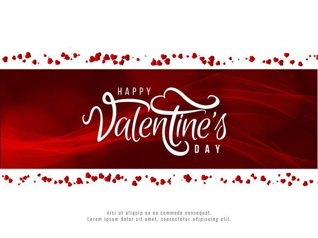 Bello fondo felice di amore di San Valentino