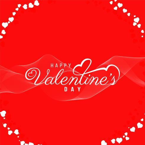 Abstrakt Glad Valentinsdag vacker bakgrund