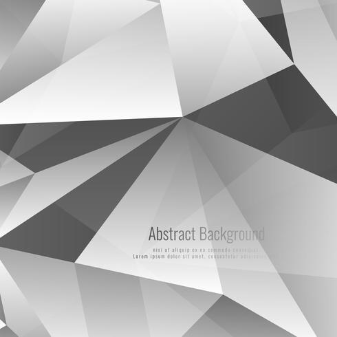 Abstrakt grå färg geometrisk stilig bakgrund