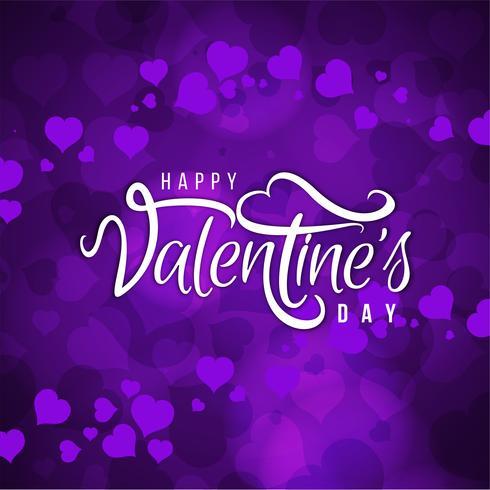 Stijlvolle Happy Valentine's Day achtergrond