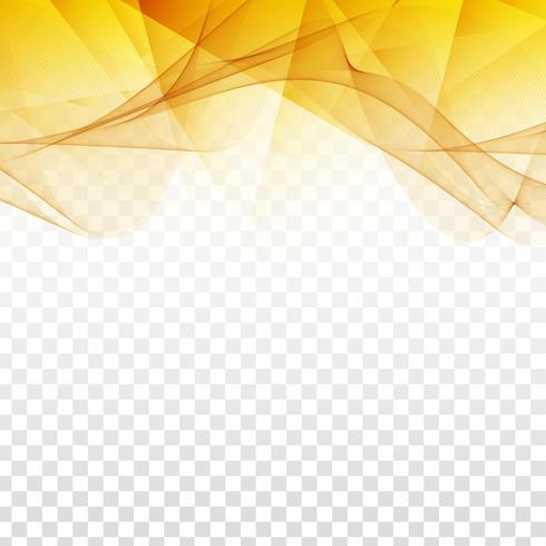 Abstraktes gewelltes geometrisches Design auf transparentem Hintergrund