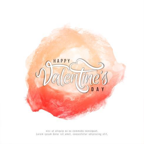 Fondo abstracto feliz día de San Valentín