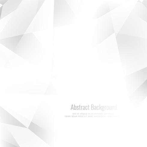 Fundo geométrico abstrato elegante cor cinza