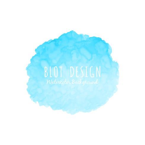 Abstrakte Aquarellfleckdesign-Hintergrundillustration