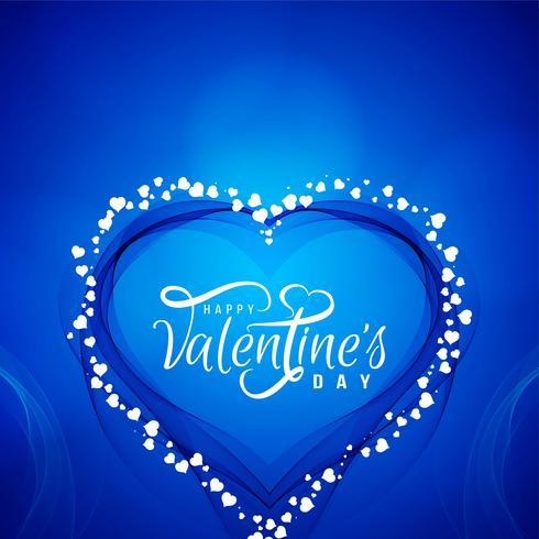 Gelukkige Valentijnsdag liefde achtergrond