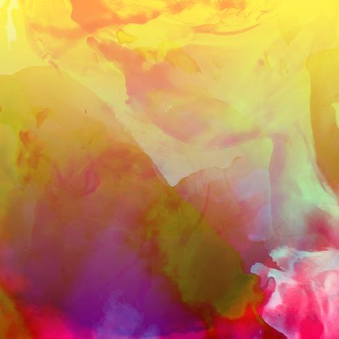 Aquarelle coloré abstrait moderne