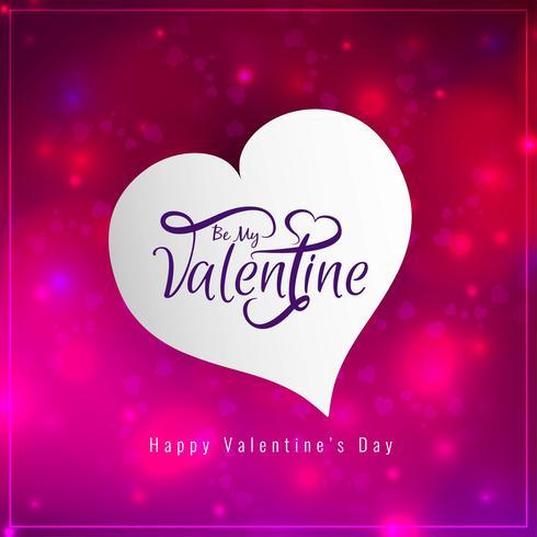 Glad hjärtans dag kärleksbakgrund