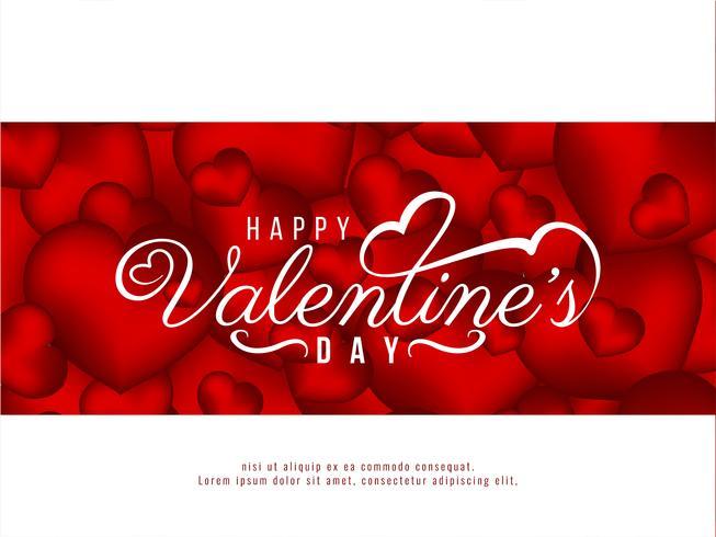 Glücklicher Valentinstag Liebeshintergrund