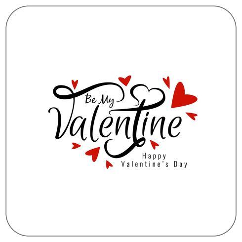 Heureuse conception de fond élégante Saint-Valentin