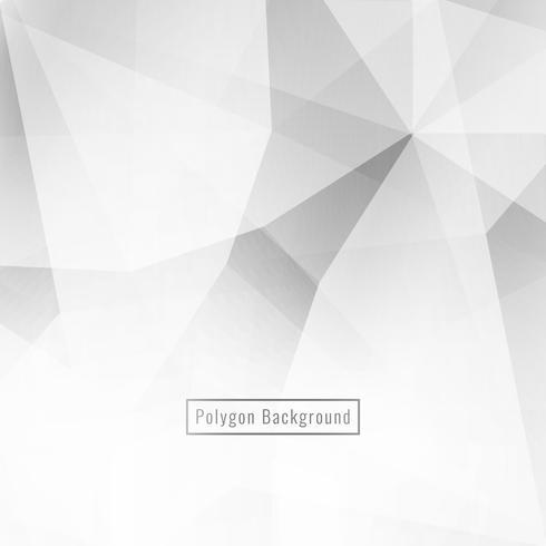 Fundo moderno de polígono geométrico abstrato cor cinza