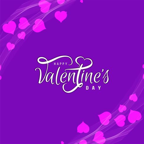Fondo feliz del amor del día de tarjeta del día de San Valentín
