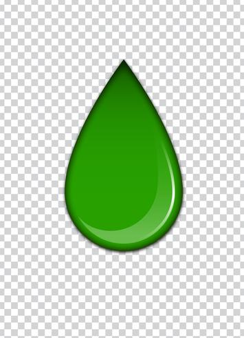 Green liquid, splashes and smudges. Slime vector illustration.