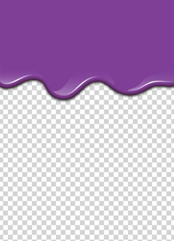 vector purple splash with transparency background