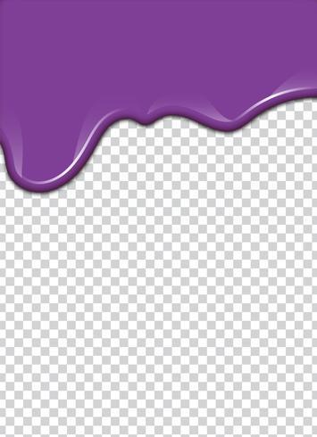 vector splash viola con sfondo di trasparenza