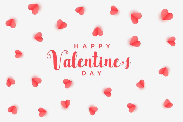 eleganta hjärtan mönster valentines dag bakgrund