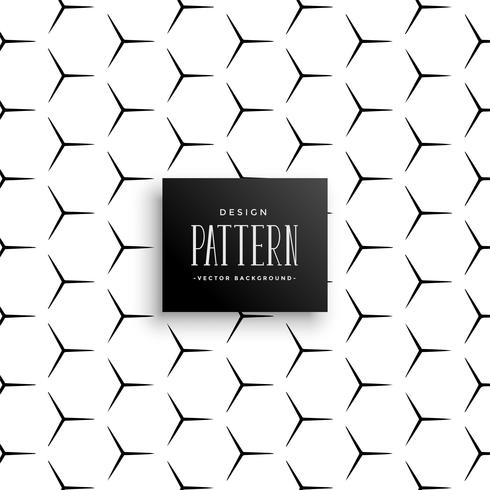 abstract sharp line pattern forming hexagon background