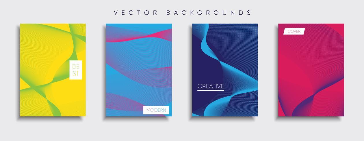 Minimal Vector cover designs. Future Poster template