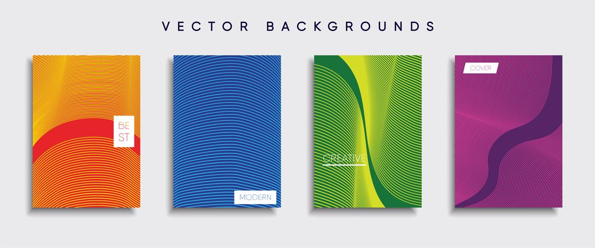 Minimal Vector cover designs. Future Poster template