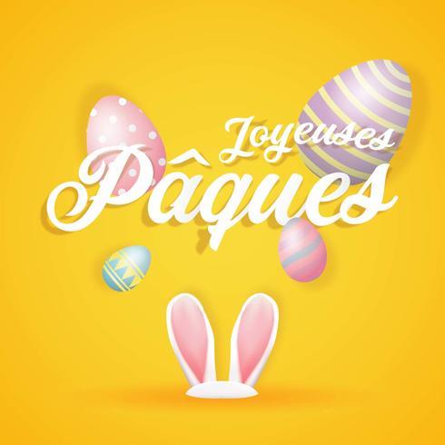 Joyeuses Pâques hälsningar