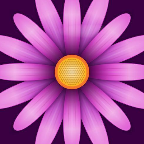 Illustrazione di Clipart del fiore del fiore vettore