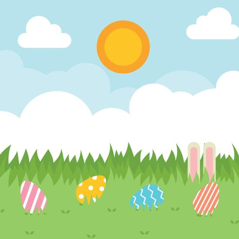 Easter Spring Background - Download Free Vector Art, Stock Graphics & Images