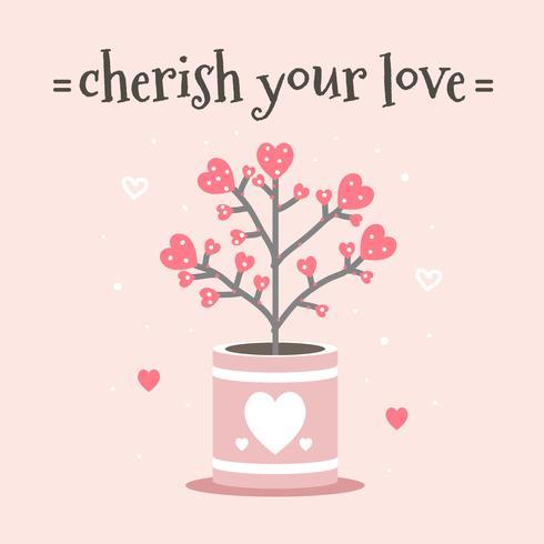 koester je liefdesvector