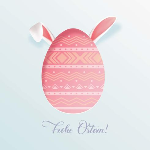 Frohe Ostern Saludos