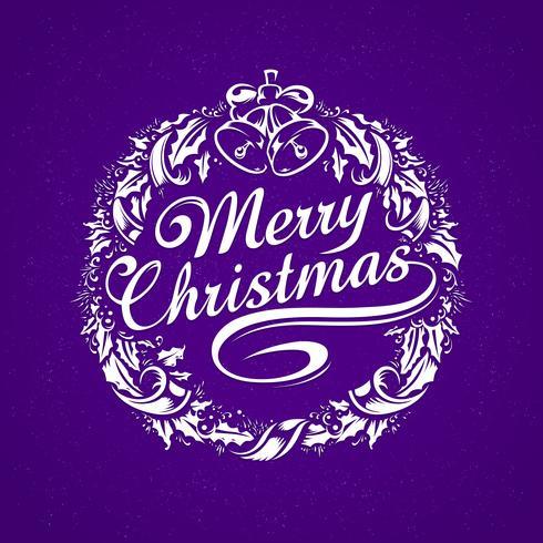 Tipografia de navidad