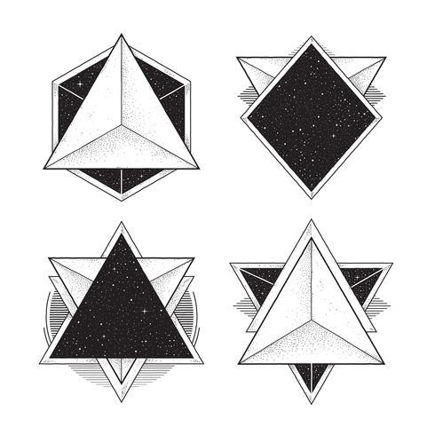 Geometric Hipster Frames