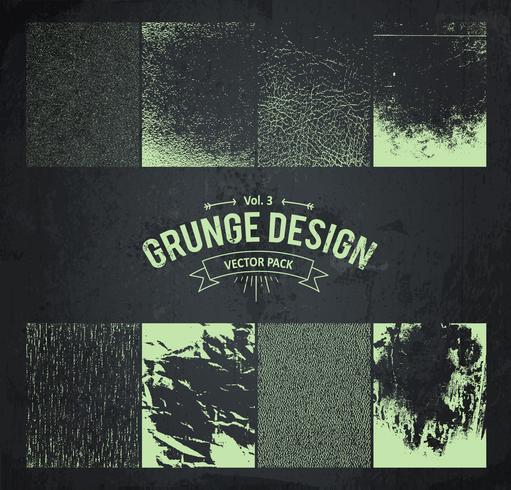 elementi di design grunge set 3