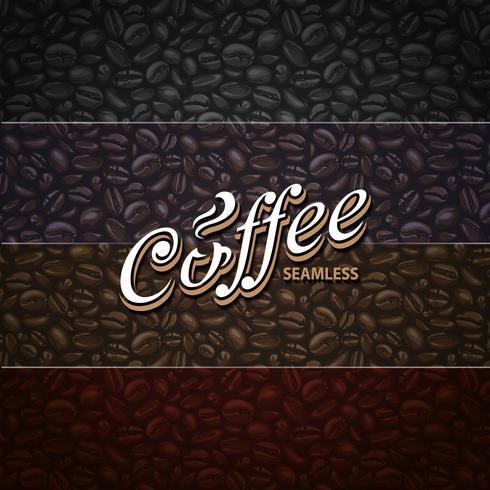 Koffie naadloze patronen