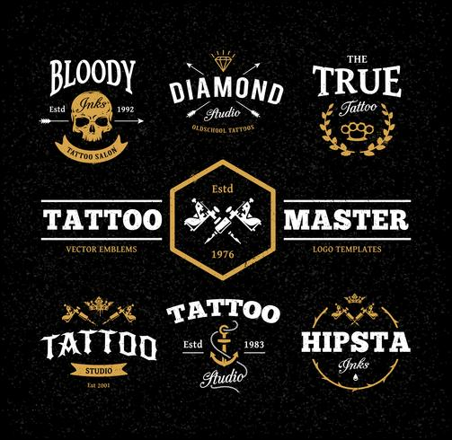 Tattoo Studio-emblemen