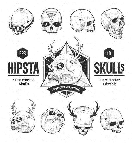 Cráneos de hipsta